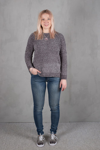Culture - Vanda Jumper Laundry Grey