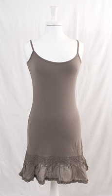 Cream - Florence Underdress Grey Brown 30% REA