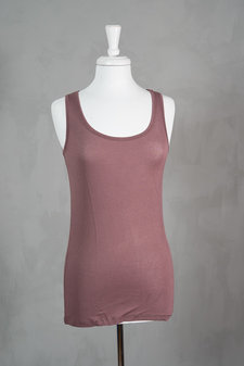 Culture - Katharine Tank Top Mulled Rose