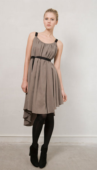 Vintage by Fé - Amalia Dress Khaki