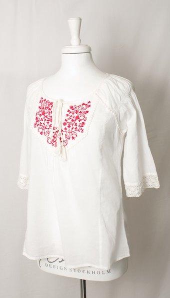 ReMind - Blus Fleur White