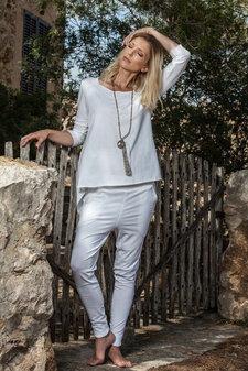 Santa Ni - Santosha Baggy Pants White