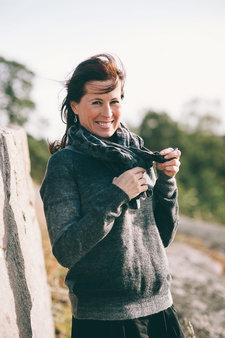 Second Female - Creu Knit Grey/Black