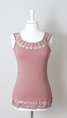 Cream - Florence Top Twillight Mauve 30% REA