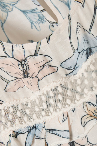 Culture - Jantie Blouse Spring Gardenia