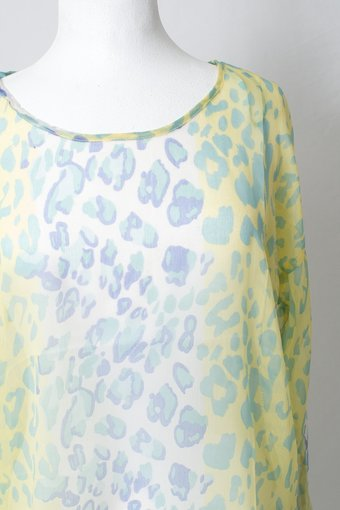Cream - Moa Blouse Pastel Yellow