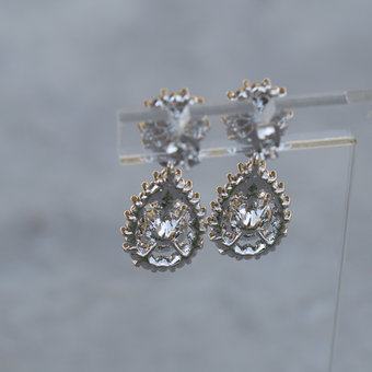Lily and Rose - Sofia Earrings Light Saphire