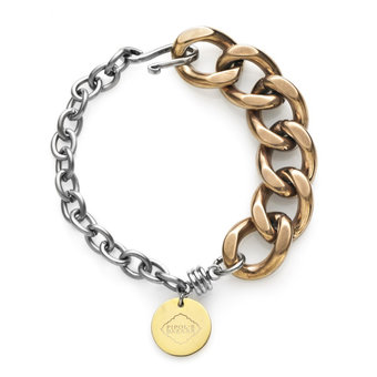 Pipol's Bazaar - Mix Bracelet Gold and Silver