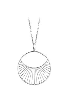 Pernille Corydon - Daylight Necklace Short Silver