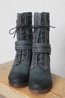 DKODE - Raulla Boots Blue Grey