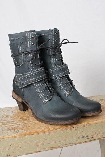 DKODE - Raulla Boots Blue Grey
