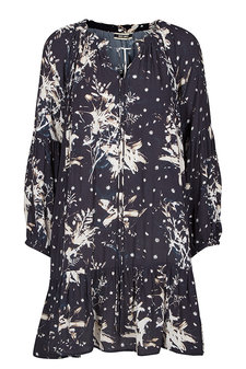 Mos Mosh - Tikka Lilly Dress Navy Print