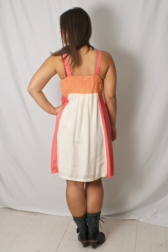 Kaffe - Erica Dress Dusty Nectarine