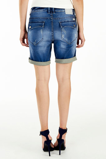 Circle of Trust - Zoe Denim Shorts Cosmic Blue