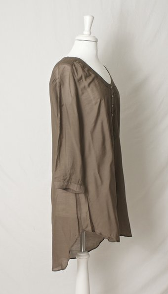 Culture - Zema Long Shirt Nature Brown