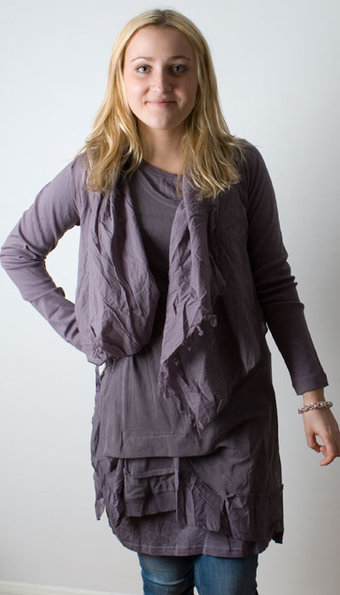 Sandwich - Cardigan Plum