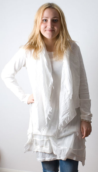 Sandwich - Cardigan White