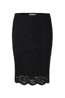 Rosemunde - Skirt Lace Black