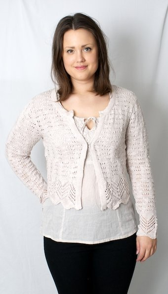 Kaffe - Cardigan Michelle Crystal Grey