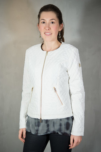 48-7 SWEDEN - Hanna Quiltjacket White