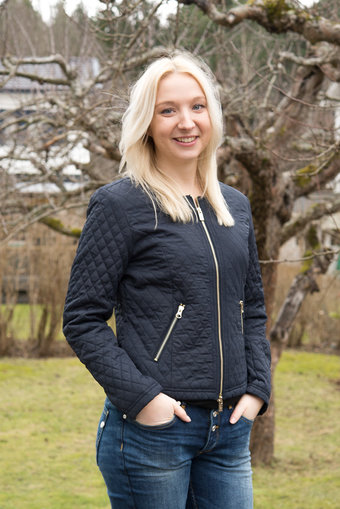 48-7 SWEDEN - Hanna Quiltjacket Navy