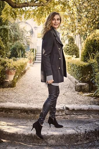 Mos Mosh - Lucy Stretch Leather Legging Black