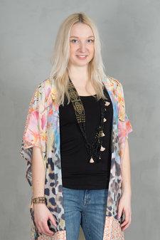 Monrow - Kimber Kimono  Leo