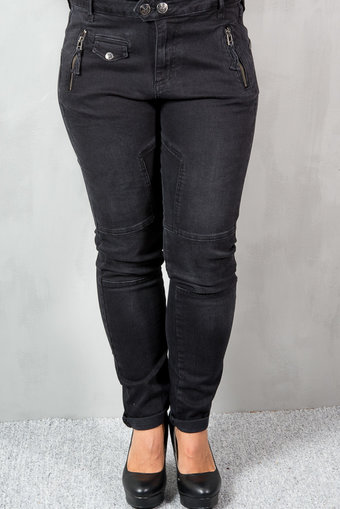Pieszak - Demi jeans Used Black