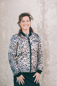 Pulz - Cari Jacket Animal Print