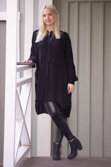 my Sunday Morning - Suzie Shirt Black