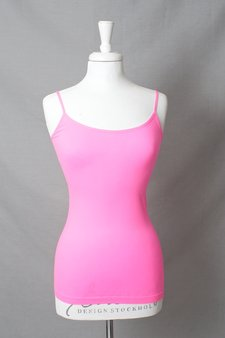 Culture - Pauli Seamless Top Neon Pink