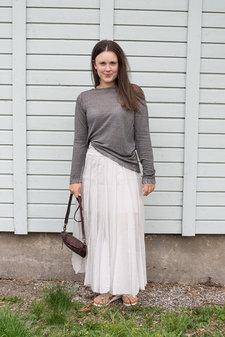 European Culture - Long Skirt