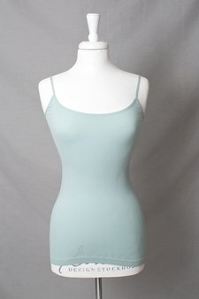 Culture - Pauli Seamless Top Aqua Mist