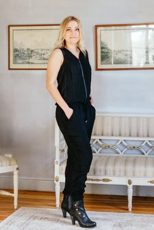 Culture - Kiki Jumpsuit Black
