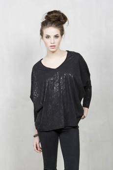 Vintage by Fé - Caniara Top Black